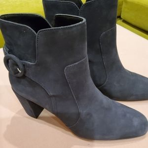 Witchery Suede Buckle Boots